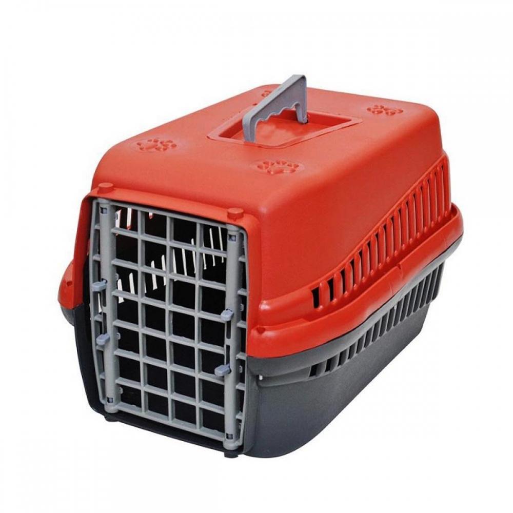 Caixa de Transporte para Cães e Gatos Plástica Nº1