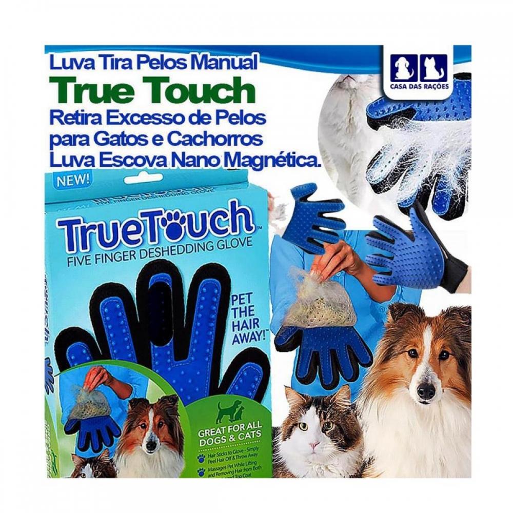 Luva Tira Pelo Magnética True Touch Pet Nano