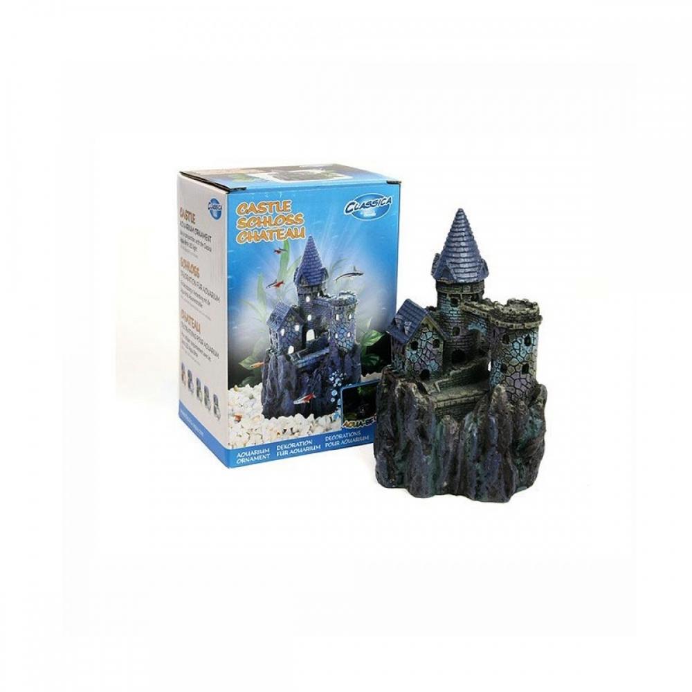Castelo para Aquário com encaixe para Led interno submerso Arcadia