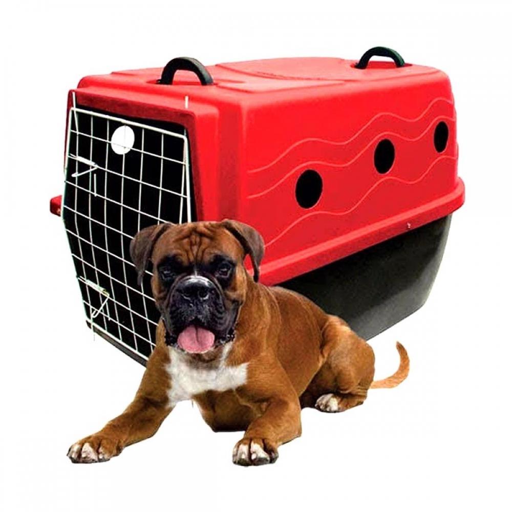 Caixa de Transporte com rodinhas Plast Kão nº3