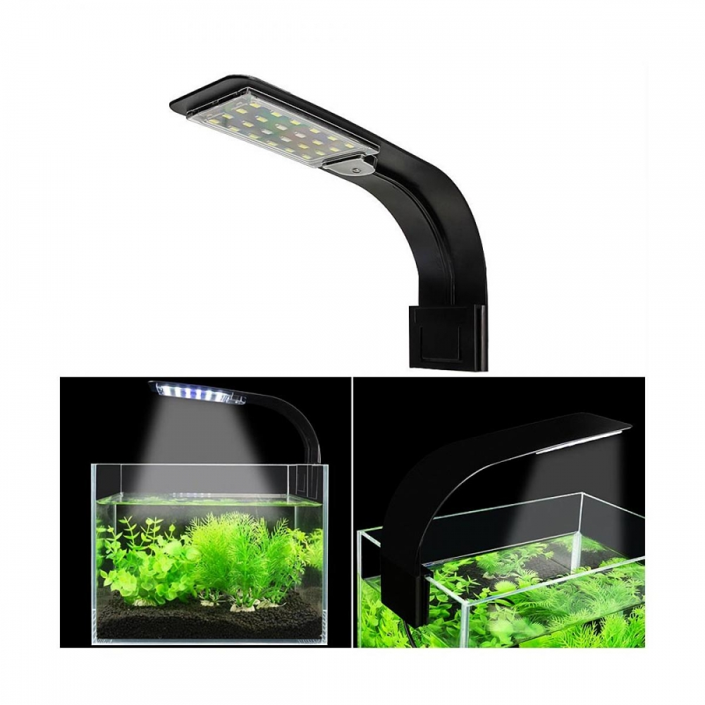 Lâmpada para Aquário Led Portable X5 Aquarium Light 10W  220V