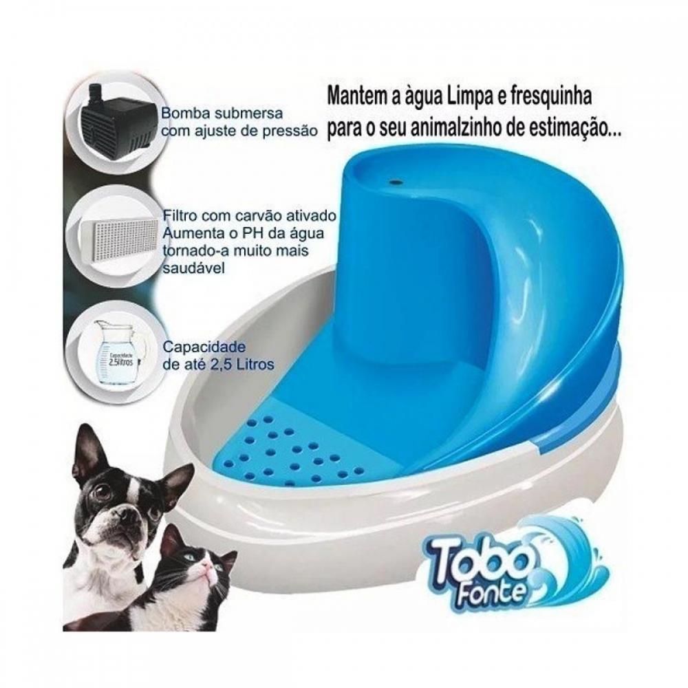 Bebedouro para Cães e Gatos Tobo Fonte 220v